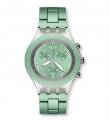 Zegarek Swatch FULL-BLOODED MINT na bransolecie SVCK4056AG