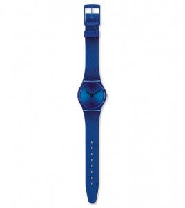 Zegarek Swatch Intense Blue na pasku GS144